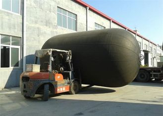 Floating Yokohama Dock Bumper Fender , Inflatable Boat Fenders Low Counterforce